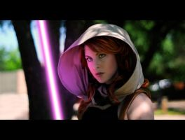 Mara Jade Purple Lightsaber by coucoucmoa