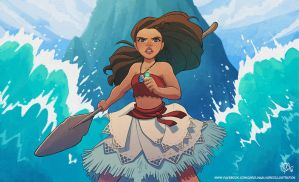 I am Vaiana! by Kaisel
