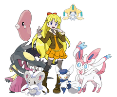 Minako Pokemon Team by Zerbear333