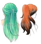 Hair doodles by RachyChan