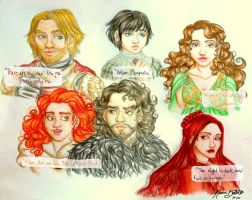 Traditional Renditions by naomi-makes-art73