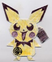 Origami Pichu by Endrance88