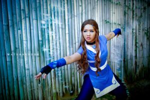 Avatar: Water Bender by Astellecia