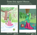 Redo Meme :Lady of the Pond: by SaphyreMelodies