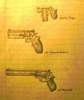 Revolvers by SergeantBiscuits