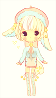 Pastel bunny adopt-AUCTION-closed by kioler