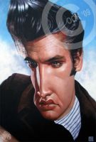 Elvis Presley by RussCook