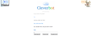 Tony trolled Loki on cleverbot by BlueNightGiGi