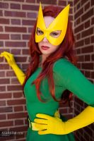 Kearstin as Marvel Girl (Cosplay) 2 by screaM4Dolls