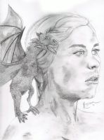dany pencil study by Relion
