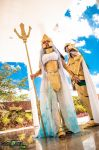 Cosplay Seraphina and Aquario Degel - Lost Canvas by hannahlayse