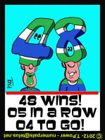 48 Canuck Wins - 04 Games To Go by tony-p-power