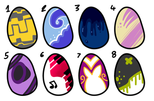 [TWO LEFT] - Wolf Egg Adopts Batch 3 by Featheries