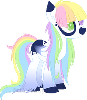 Rainbow Contest Entry by m00nstonee