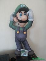 Papercraft Luigi Big (1m/40 inch tall) by tuupiainen