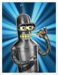 Bender B. Rodriguez by DaleNorvell