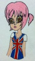 Flower-Eyed Brit by huzzellzebub