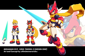 Megaman ZX3 Concept- Ezro by ultimatemaverickx