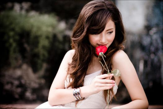 kiss from a rose by leipre
