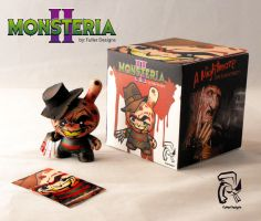 Freddy Krueger Monsteria II by FullerDesigns