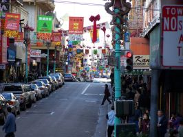 Chinatown Downtown by sloegin