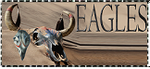 Eagles Stamp by CrystalMarineGallery