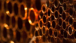 Copper circles by lubbo