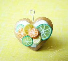 Citrus Love Charm by xcalixax