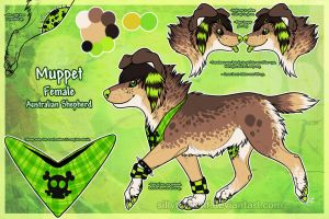 .: Muppet Sheet Ref 2013 :. by SillyTheWolf
