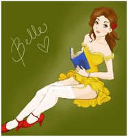 Belle by michA-sAmA