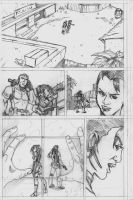 Resident Evil 5 page 1 by CrimeRoyale