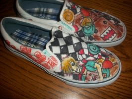 Fane and Domo shoes by Nach4ever