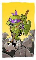 Donatello Sketch by DerekHunter