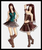 + goth clothes + by Hell-o-Mary