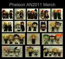 Anime North 2011- con merch by pheleon