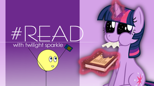 Cody reads with Twilight Sparkle by TheAdamBryant