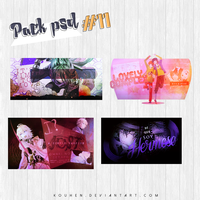 Pack PSD #11 by Kouhen