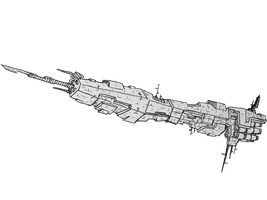 harbinger Dreadnought by Angryspacecrab