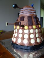 Dalek Cake by Eater-Of-Cupcakes