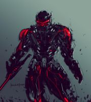 Black Python Suit by benedickbana