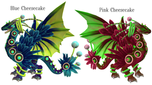 Spore:Cheesecake Dragons by PukingRainbow