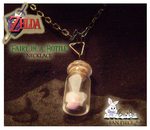 'Fairy in a Bottle' Necklace by SnowBunnyStudios