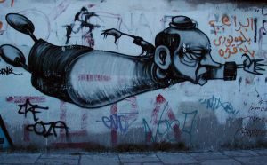 graffiti in patras by carmencru