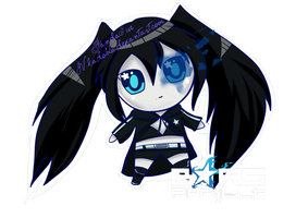 Chibi black rock shooter by JVladoka