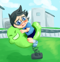 Homestuck: John by Faggish-Fish
