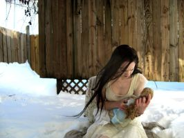 Snowy dolls by 3corpses-in-A-casket