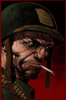 Sgt Rock by sirandal