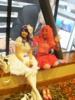 A-Kon '12 - Rarity and Pinke Pie by TexConChaser