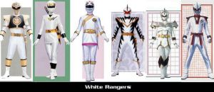 White Rangers by TommyOliver5