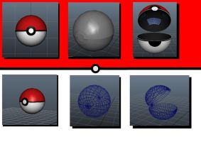 Pokeball by NathanRussell